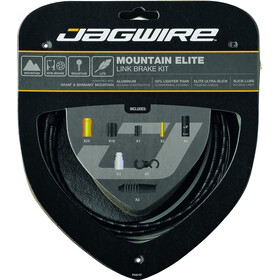 Jagwire Mountain Elite Link Kit de câbles de frein, black